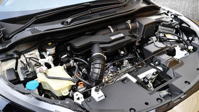 画像: ツーリング搭載の1.5L直4DOHCターボエンジン(最高出力172ps/最大トルク220Nm)。