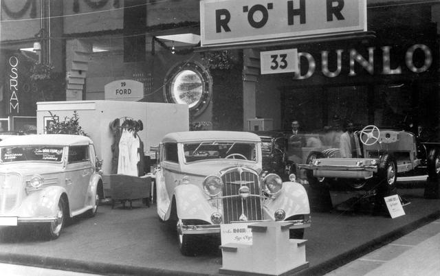画像: 1935年にダイムラー・ベンツに招聘されたハンス・グスタフ・レール技師は、アドラー社で仕事をする前に、自身の名を冠した高級車ブランドを立ち上げていた。