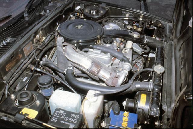 画像: 兄弟会社の三菱重工と連携しながらターボを開発。G32Bエンジンはキャブ仕様で、115psを発生した。