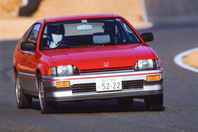 画像: ホンダ バラードスポーツCR-X。当時のライバルとも言われた、トヨタのAE86型カローラレビン/スプリンタートレノと比較して100kg以上も軽量だった。