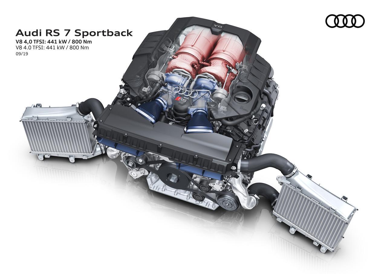 Images : 6番目の画像 - アウディ新型RS7スポーツバック - Webモーターマガジン