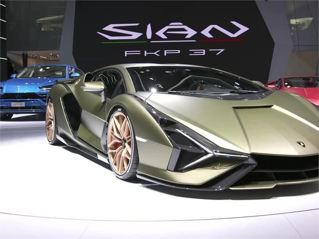 画像: Lamborghini Sián FKP 37 – Beauty Shots (Exteriors)