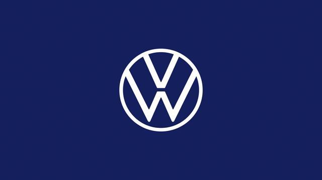 画像: 新しいフォルクスワーゲンのブランドロゴデザイン。