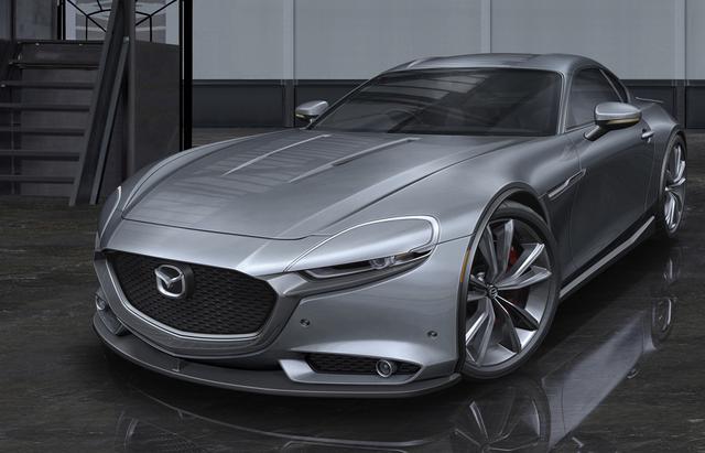 画像: 2021年から採用車が登場する直6エンジン+FRの「ラージアーキテクチャー」をアレンジすれば価格も抑えることが出来るが、RX-9はコストよりも車体の軽量化による環境性能向上を目指しているようだ。(RX-9の予想CG)