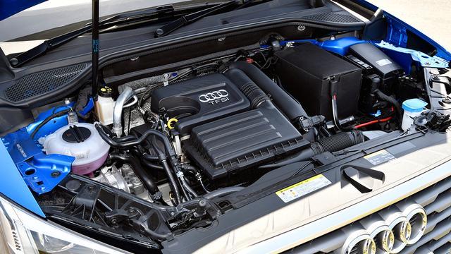 画像: 搭載の1.4TFSIエンジン。最高出力150ps/最大トルク250Nmを発生。