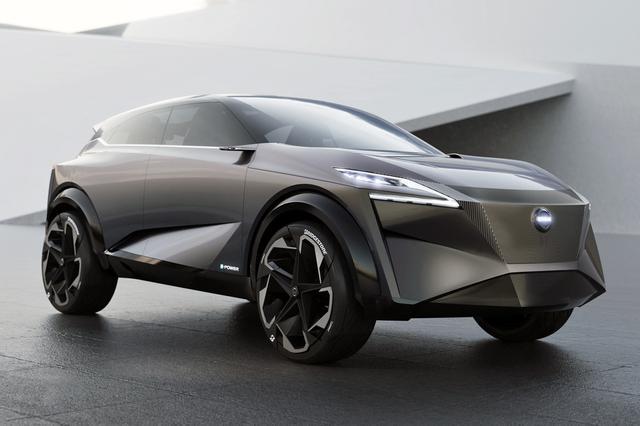 画像: 日産が2019年のジュネーブ モーターショーで発表したクロスオーバーコンセプトカー「IMQ」。これと関連性のあるモデルになるかもしれない…?