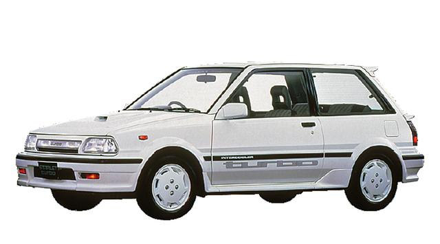 画像: 1987年12月、ターボSは110psと15.3kgmにパワーアップ。フロントグリルなどのデザインも変更された。