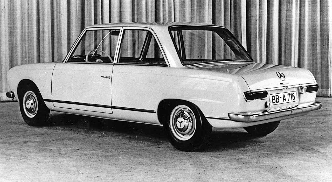 Images : 6番目の画像 - ベンツ小型車の歴史 5 - Webモーターマガジン