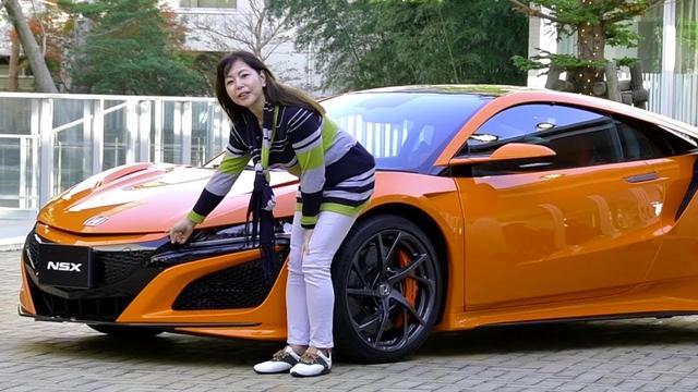 画像: 竹岡 圭の今日もクルマと・・・ホンダNSX Test Drive youtu.be