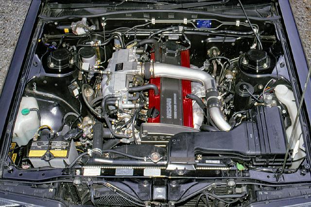 画像: GTSに搭載されたのは7thスカイライン最強のRB20DET。GTSへの採用にあたり、タービンブレードはセラミック製に変更された。