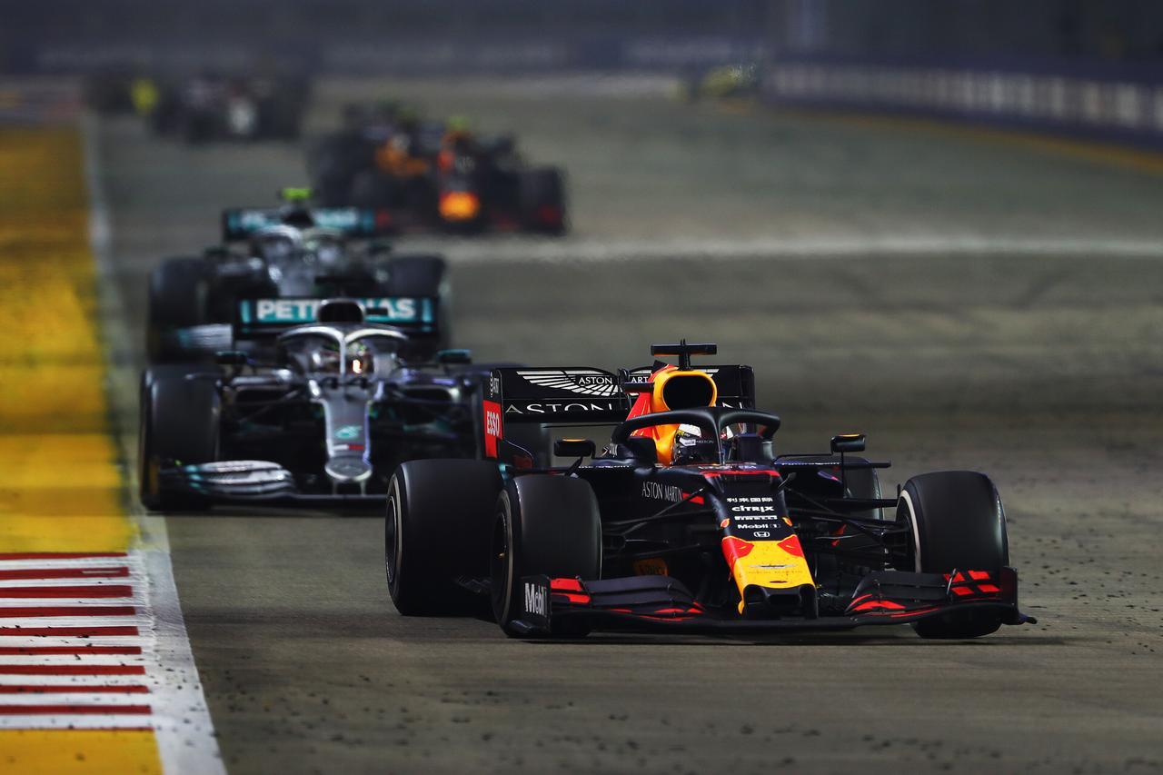 Images : 6番目の画像 - 2019 F1第15戦シンガポールGP決勝 - Webモーターマガジン
