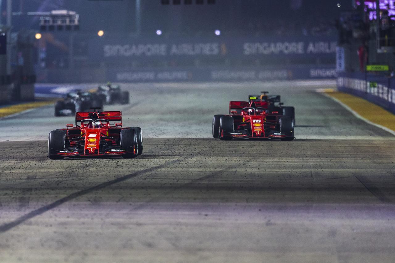 Images : 1番目の画像 - 2019 F1第15戦シンガポールGP決勝 - Webモーターマガジン