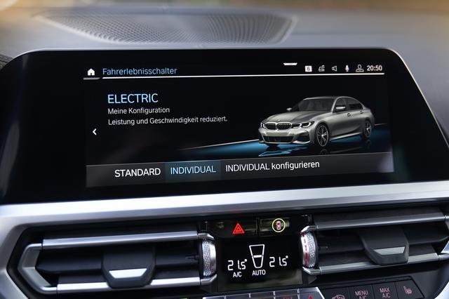 画像: 「エレクトリック」モード時のEV走行距離は51-59km (WLTP値。NEDC値は59-66km)と従来より増えた。