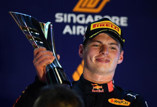 画像: 自身今季6回目の表彰台を獲得したマックス・フェルスタッペン(レッドブル・ホンダ)。予選4番手、決勝3位。