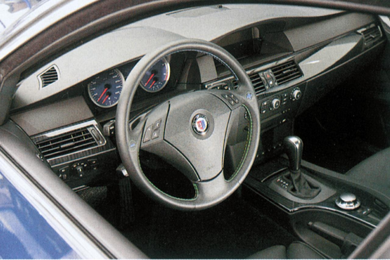 Images : 4番目の画像 - BMW アルピナB5(2005年) - Webモーターマガジン