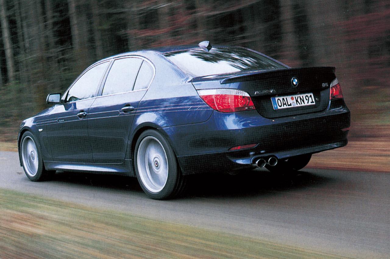 Images : 2番目の画像 - BMW アルピナB5(2005年) - Webモーターマガジン