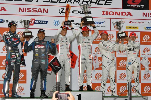 画像3: NSX GT3の初勝利