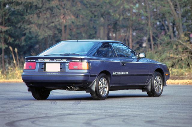 画像: 1985年8月に発表された2000GT-R。セリカ史上初めてFFとなり、デビュー時の最上級グレードがこのGT-Rだった。