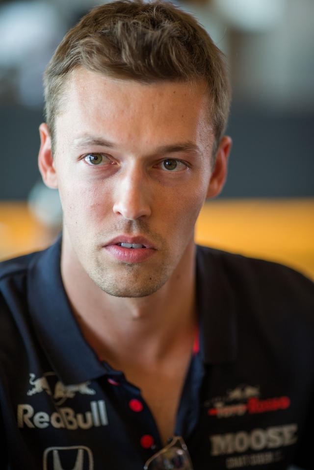 画像: ダニール・クビアト(トロロッソ・ホンダ)。予選出走せず、決勝20番グリッドスタート。