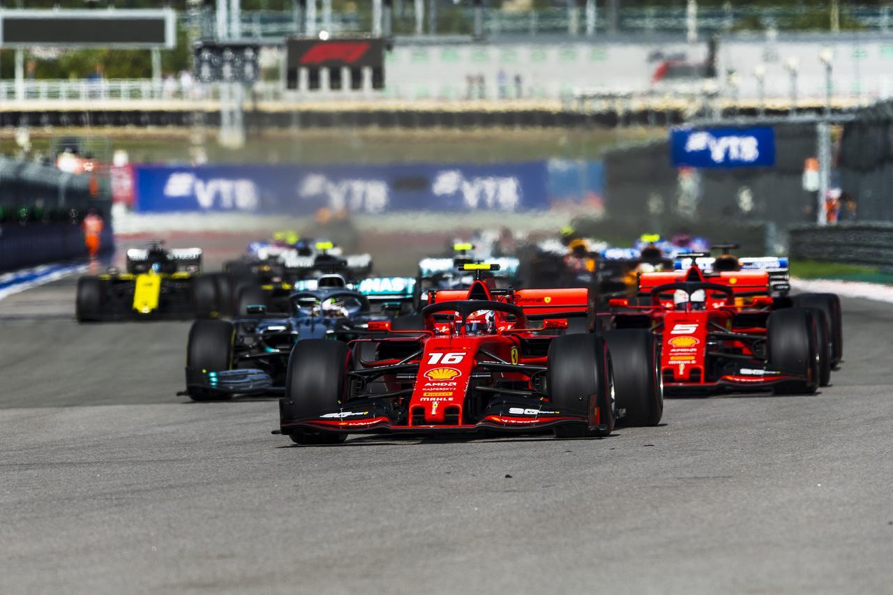 Images : 1番目の画像 - 2019 F1第16戦ロシアGP決勝 - Webモーターマガジン