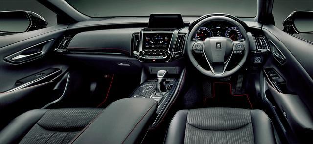 画像: Sスポーツスタイル(ハイブリッド車、オプション装着車)内装色はブラック