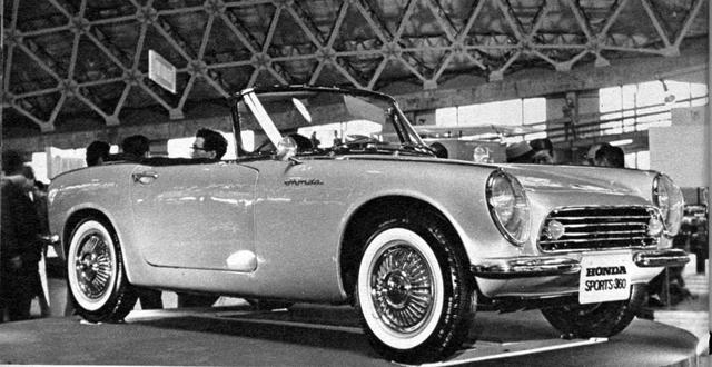 画像: 1962年の第9回ショーでは、ホンダが4輪への進出を果たした記念すべきモデル、S360(写真)とS500が出展された。
