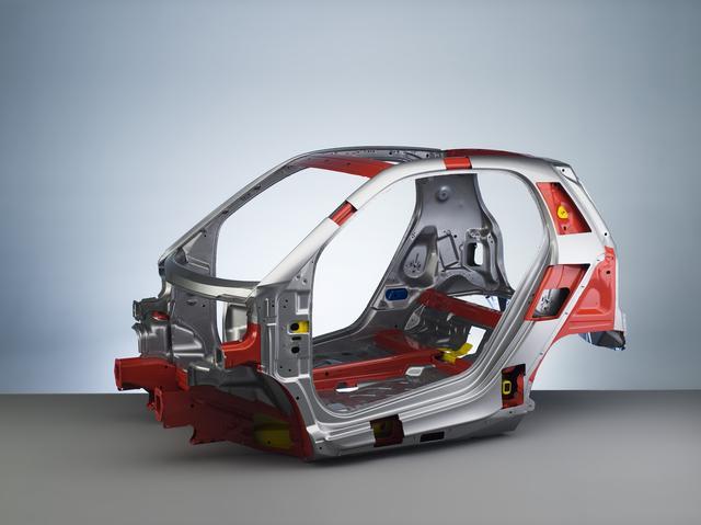 画像: 歴代スマートの車体骨格を成すトリディオン・セーフティセル。