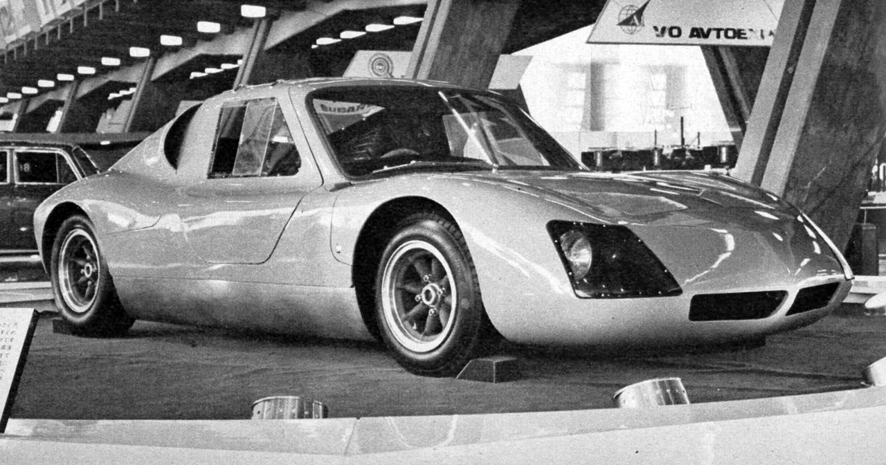 画像: 1965年のショーに日野が出展したプロトタイプ「日野GT」。のちに日本GPへの出走を目指した日野サムライのルーツにあたる。