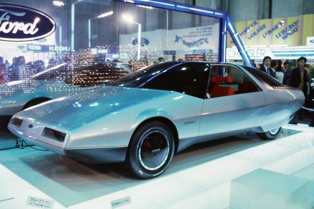画像: イタリアン カロッツェリアが手がけた近未来的なスタイリングのフォード プローブ。