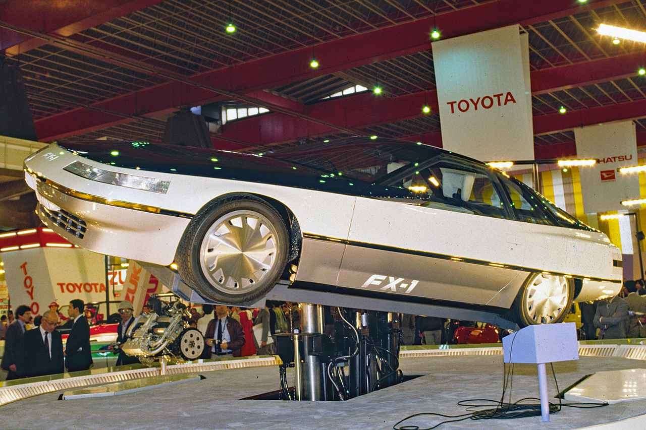 画像: トヨタ FX-1は当時のトヨタの最新技術をテンコ盛りに採用していた。