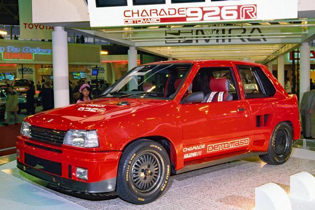 画像: 市販化も期待された、ダイハツ シャレード デ・トマソ926R。