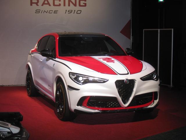 画像: ステルヴィオ クアドリフォリオ F1 トリビュート 限定4台 車両価格1495万円。