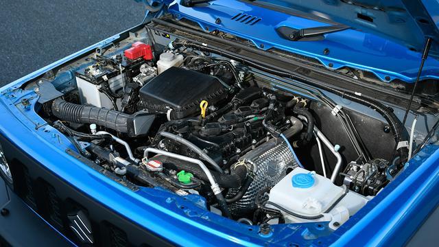 画像: エンジンは自然吸気の1.5L直4エンジン。これに4速ATまたは5速MTが組み合わされる。