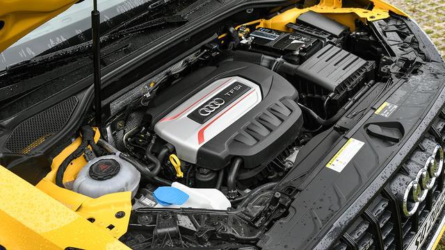 画像: アウディバルブリフトシステムを備え、低回転域からエンジンレスポンス向上などを実現している。
