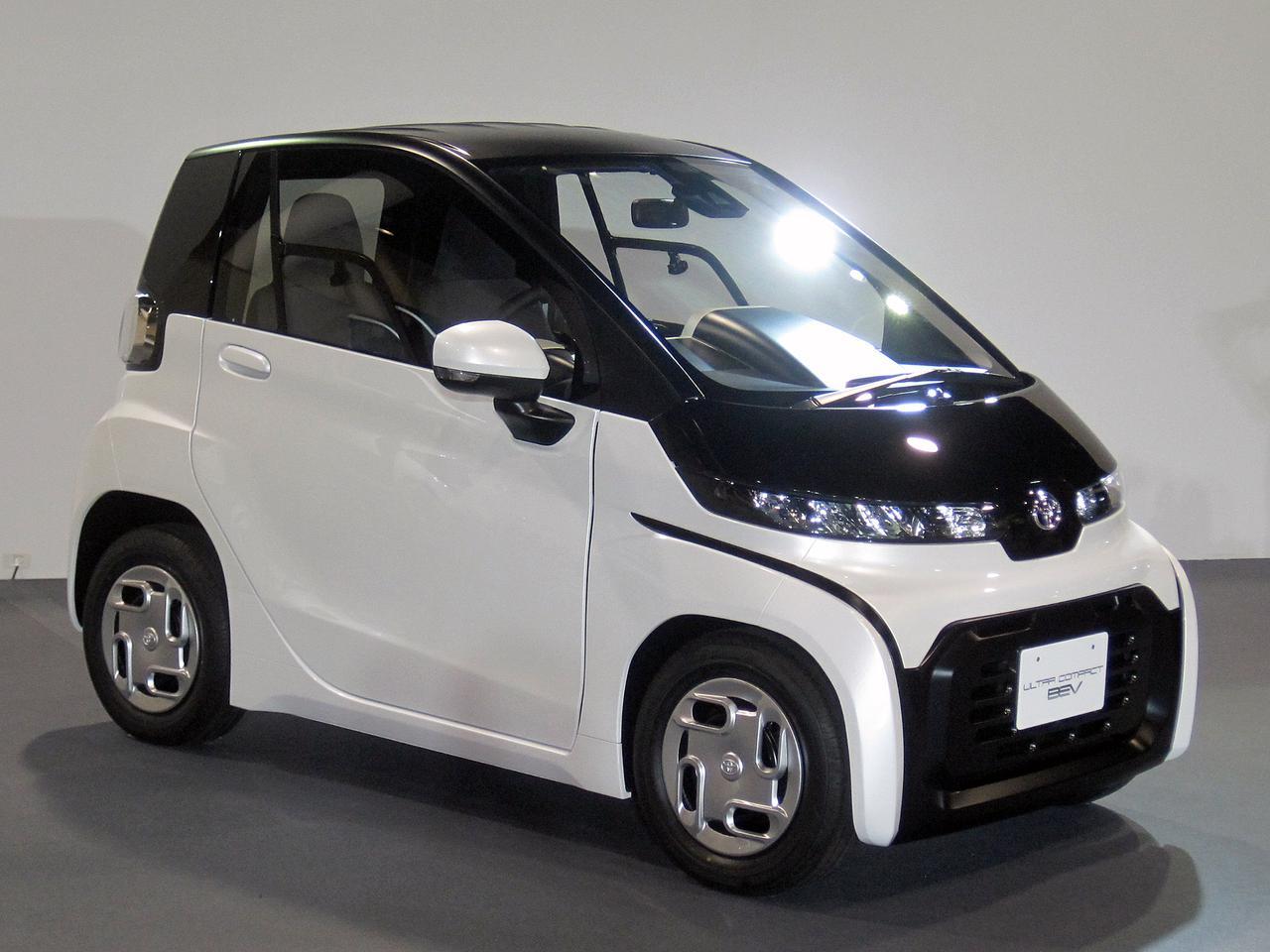 Images : 1番目の画像 - トヨタ 超小型EV - Webモーターマガジン