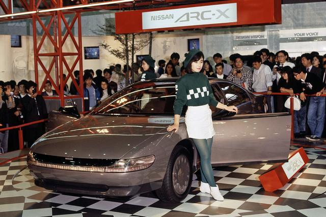 画像: 日産 ARC-Xも他社のアドバンスカー同様に電子制御技術を満載していた。