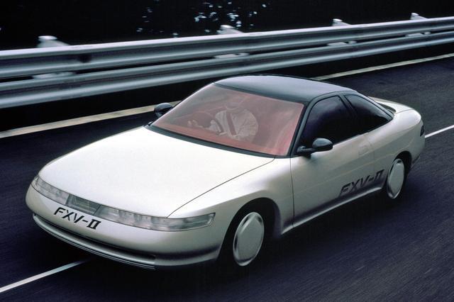 画像: トヨタ FXV-IIが登場したときは、これが次期ソアラか?などと噂された。