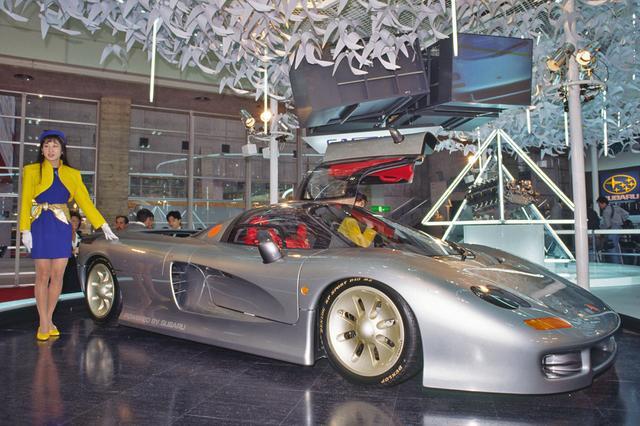 画像: 幻のスーパースポーツカー、スバル(ジオット)キャスピタ。現在は石川県小松市の日本自動車博物館に展示されている。