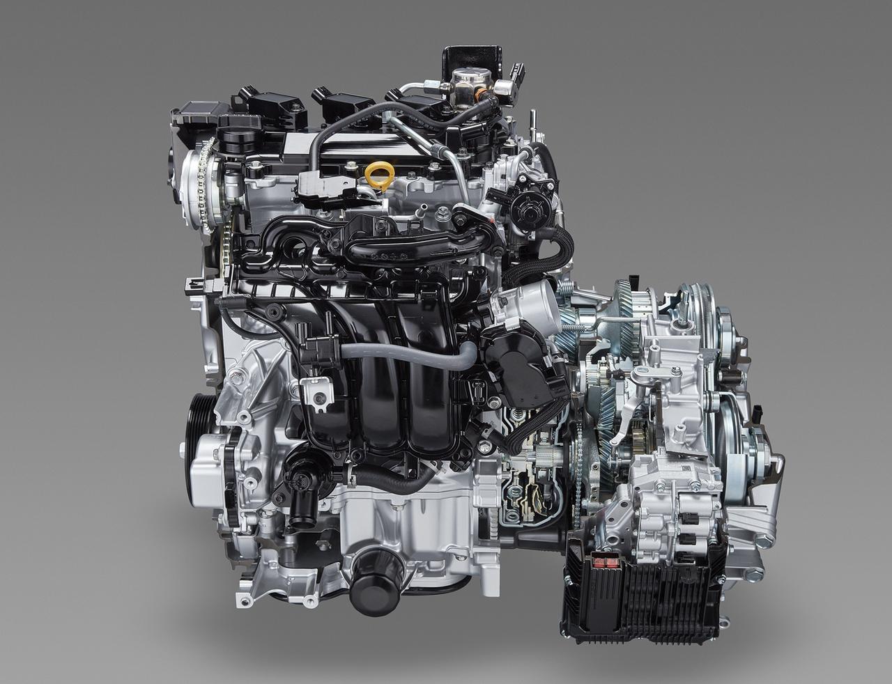 画像: ダイナミックフォースエンジン第3弾は1.5リッター直3のM15A型。写真はNAガソリンのM15A-FKSで、発進ギア付ワイドレンジCVT(Direct Shift-CVT)との組み合わせでキビキビとした走りを実現する。