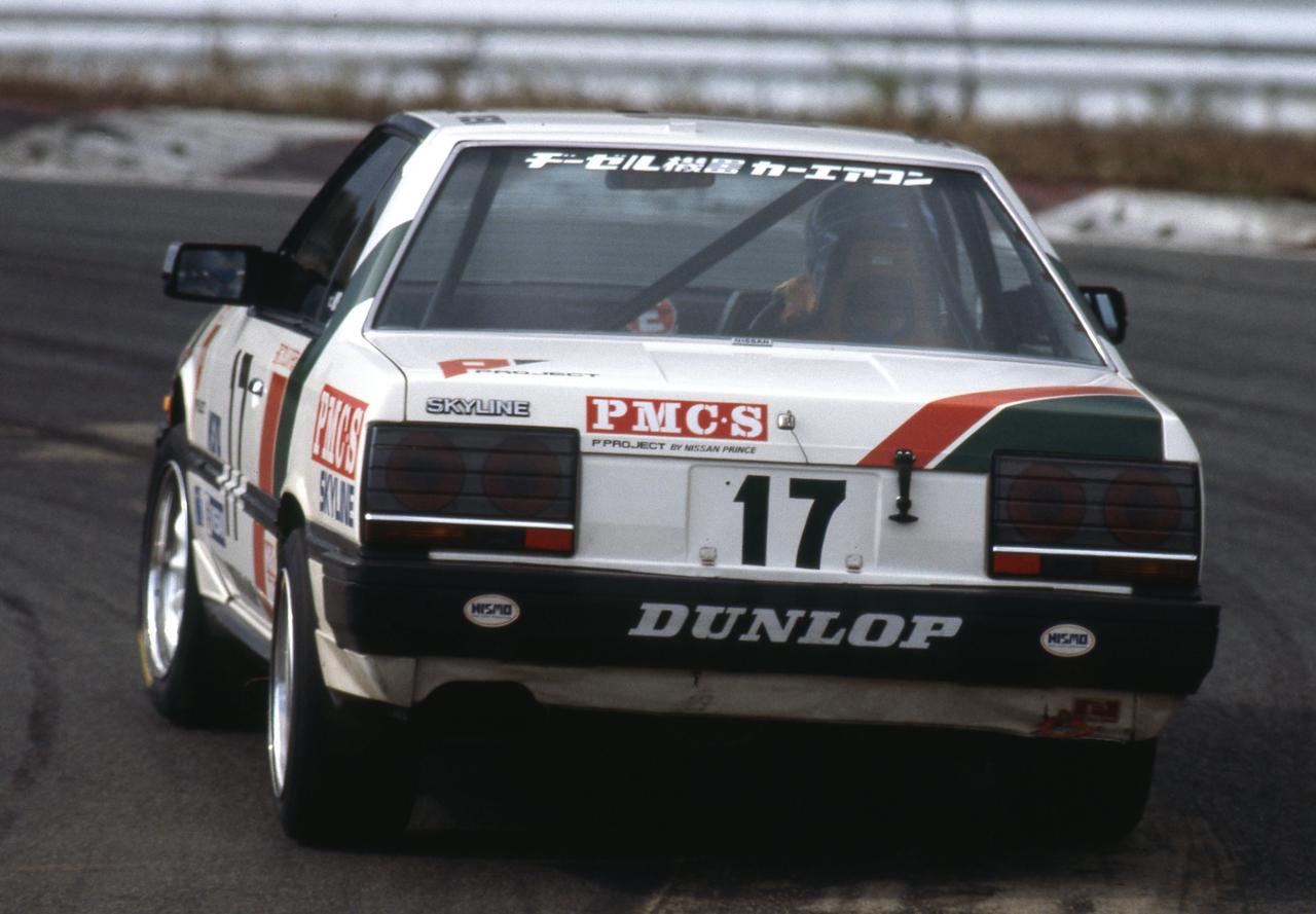 Images : 6番目の画像 - 1985年のインターTECで5位に入賞したスカイラインRSターボ - Webモーターマガジン