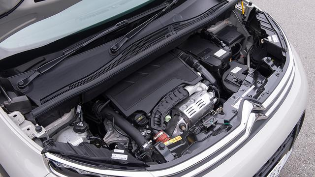 画像: ピュアテック1.2L直3ターボエンジンに、アイシンAW製6速ATを組み合わせる。駆動はFFのみ。