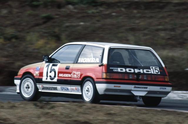 画像: 1985年の全日本ツーリングカー選手権で総合優勝を1回。ポールポジション2回を記録した無限シビック