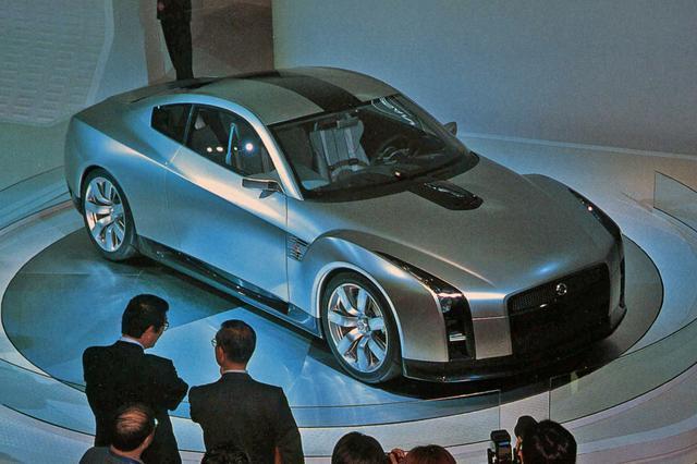 画像: 詳細なスペックは公表されなかったが、市販が心待ちにされた日産 GT-Rコンセプト。