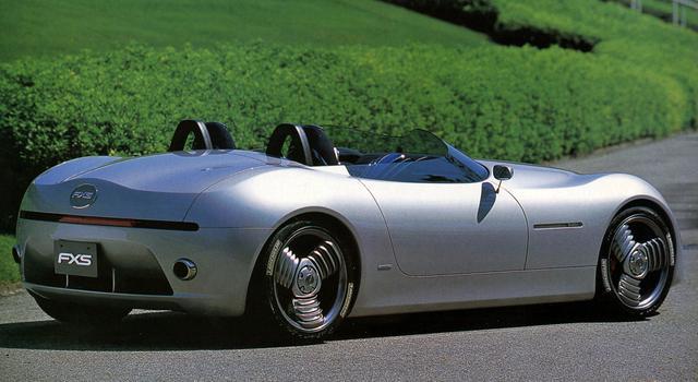 画像: トヨタ FXSはリアビューも独特。トヨタ5000GTになるのではと噂されたのだが・・・。