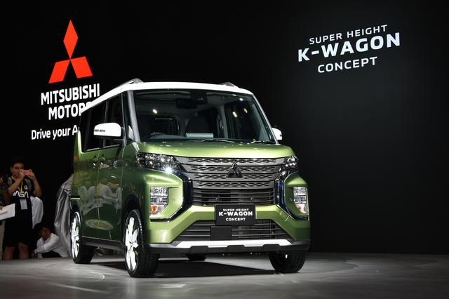 画像: 軽自動車のコンセプトカー「スーパーハイト軽ワゴンコンセプト」。
