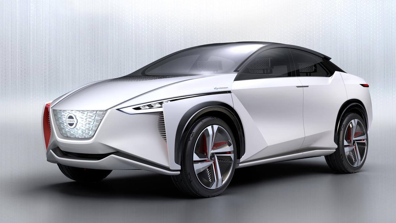 画像: 2017年の東京モーターショーに出品された電動4WDのコンセプトカー「IMx」。