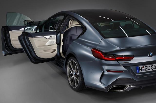 画像: BMW 8シリーズ グランクーペはサッシュレスドアを採用する。