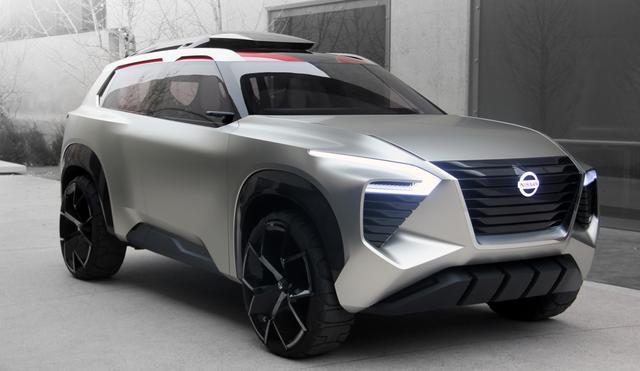 画像: 昨年1月に開催されたデトロイトショーに出品されたコンセプトカー「Xmotion」。次期エクストレイル/ローグのコンセプトモデルと言われている。