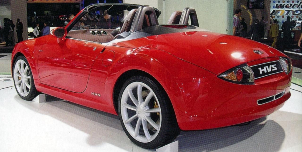 画像: 出展時には往年の名車「ダイハツ・コンパーノの再来か?」と言われたダイハツ HVS。