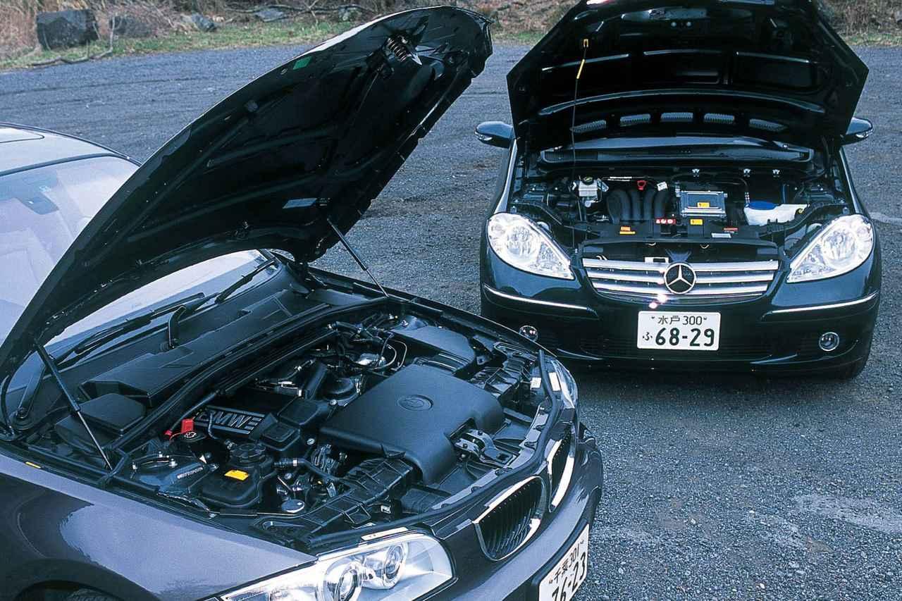Images : 2番目の画像 - BMW116iとメルセデス・ベンツA170エレガンス - Webモーターマガジン